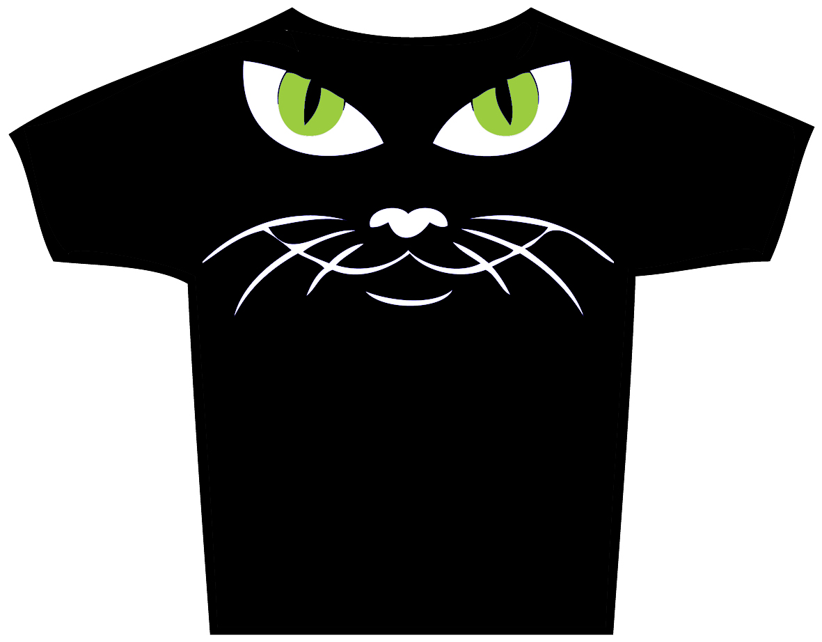 "T-Shirt ""cat face"""