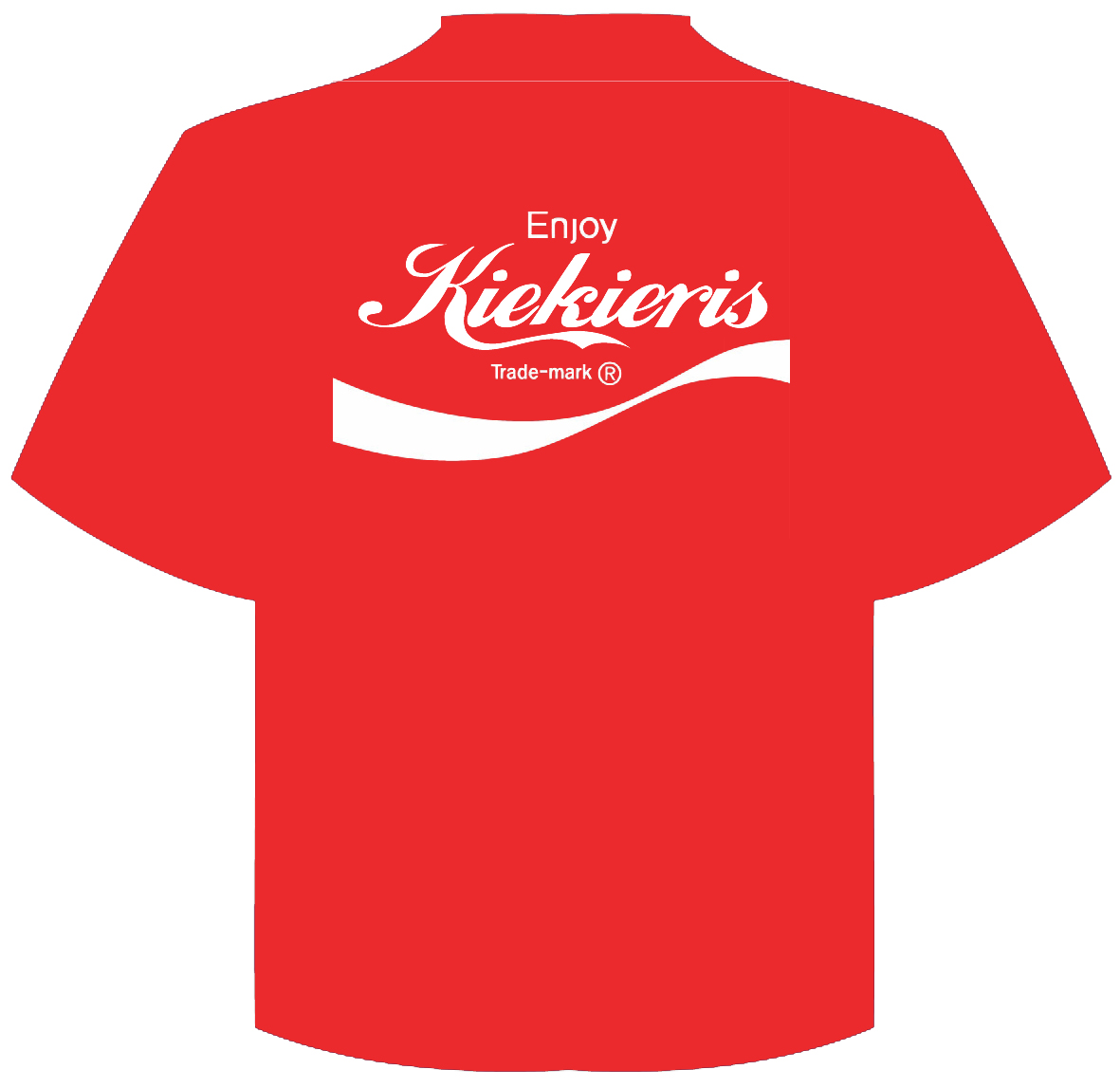coca cola t-shirt Kiekieris