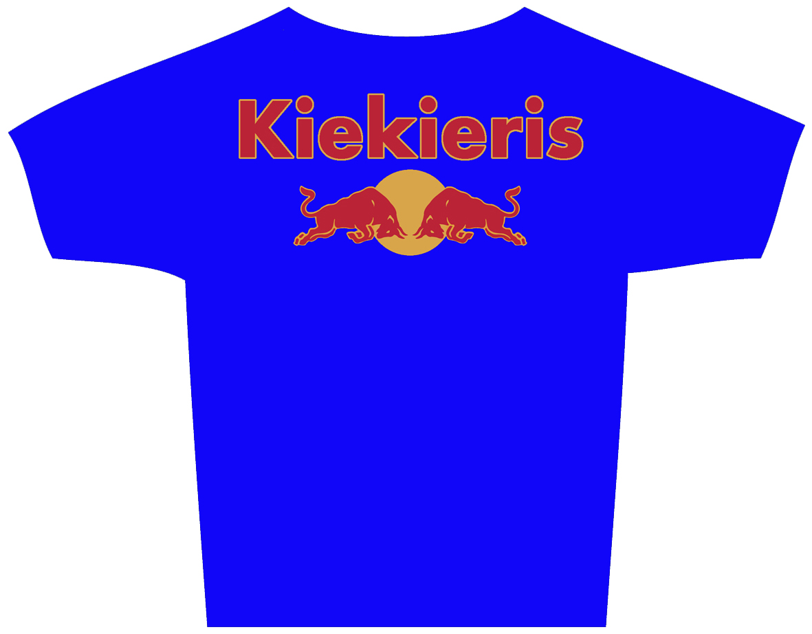 red bull t-shirt Kiekieris