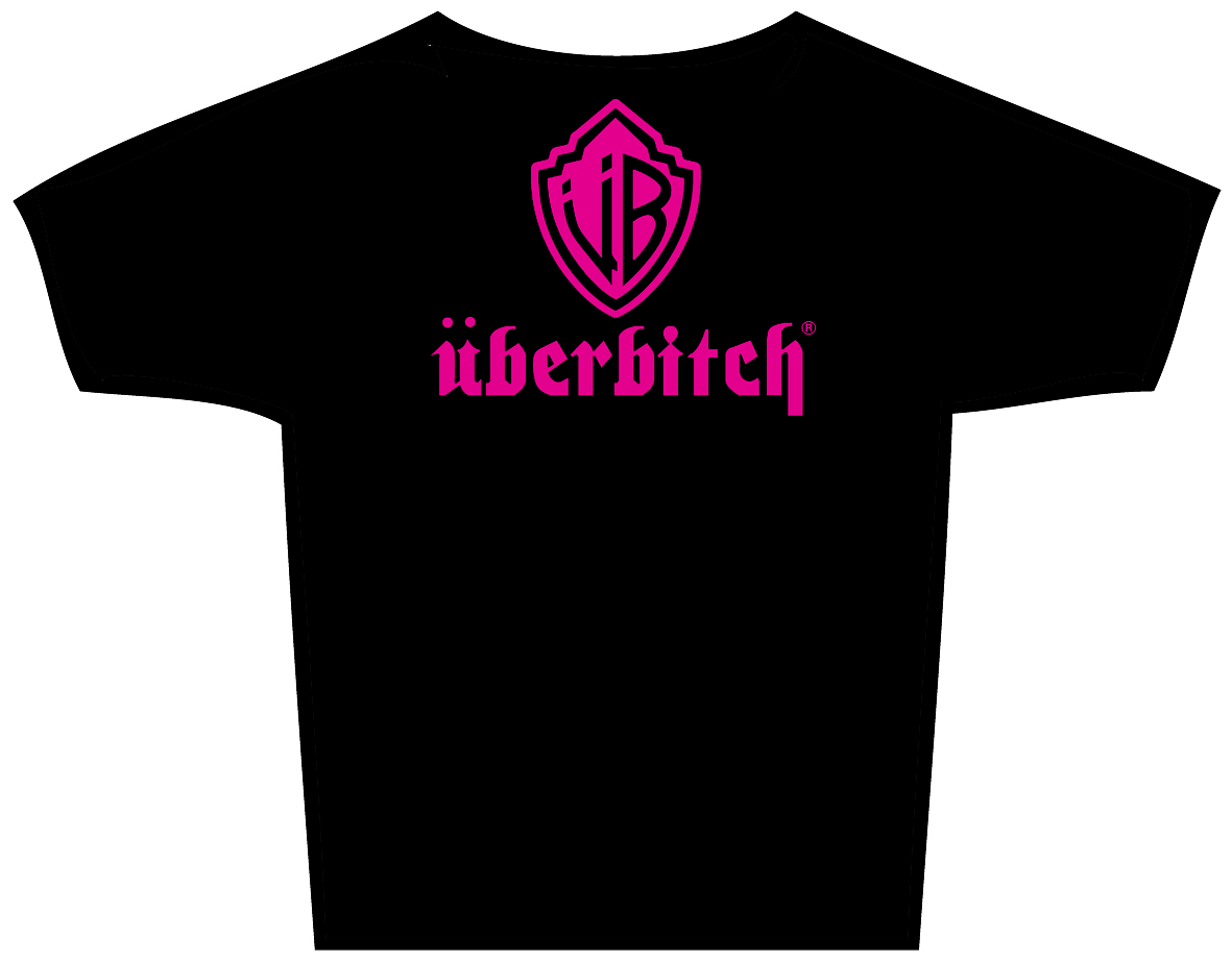 "T-Shirt ""über bitch"""